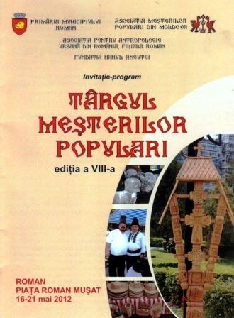 Tîrgul Meșterilor Populari, la a VIII-a ediție