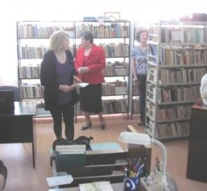 Sediu provizoriu pentru Biblioteca Municipală