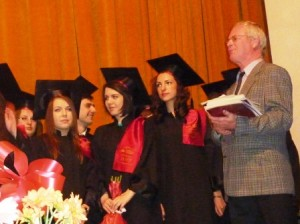 """Ziua absolvenților la """"Roman-Vodă"""""""