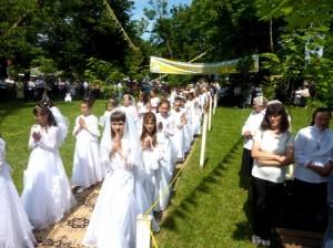 Comuna Gherăești a fost binecuvîntată de episcopul Petru Gherghel