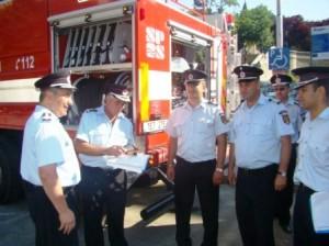 Autospecială modernă pentru pompierii romașcani