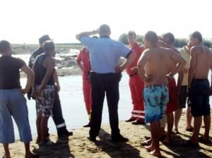 [FOTO] Pierdut în apele Moldovei