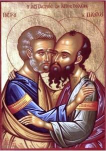 Sărbătoarea Sfinților Apostoli Petru și Pavel