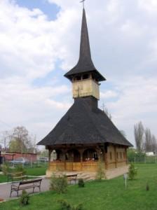 Biserică de lemn sau schit de maici, în satul Muncelu