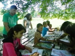 Excursie pentru copii din Valea Ursului, sponsorizată de directoarea Școlii Dochia