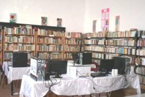 Bibliotecă comunală modernă la Gherăești