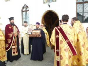 [FOTO] Sfîntul Ambrozie a făcut o minune la Roman