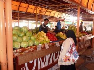 În piață se vinde marfă de producător