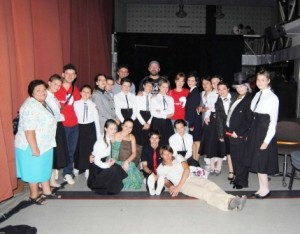 Spectacol de teatru la Primăria Roman