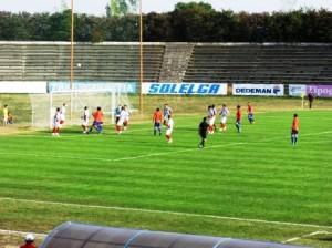 Meci tare pe stadionul Moldova