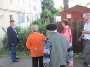 Omul de afaceri Adrian Dămoc s-a pus rău cu locatarii de la bloc