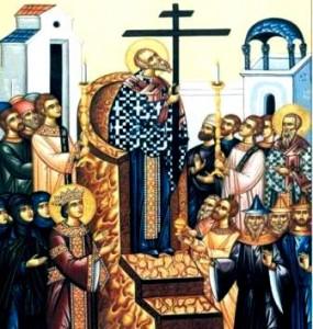 Creștinii sărbătoresc Înălțarea Sfintei Cruci