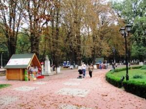 [FOTO] Parcul Municipal, oază de liniște pentru romașcani