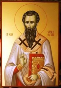 Sfântul Vasile cel Mare, prima sărbătoare a noului an
