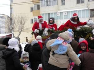 Moș Crăciun a trecut prin Roman