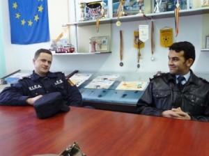 Locotenentul Constantin Luca și căpitanul Constantin Parasca