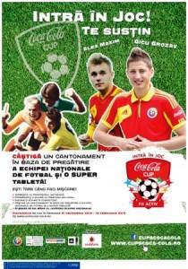 Premii tentante la Cupa Coca-Cola la fotbal inter-licee