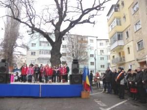 Unirea, sărbătorită lângă stejarul de 154 de ani