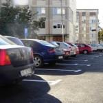 Prea puține parcări în oraș