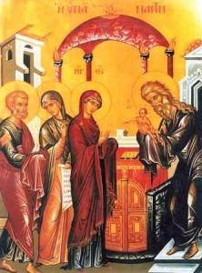 Creștinii prăznuiesc Întâmpinarea Domnului
