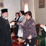 Angajatele Centrului Eparhial Roman, felicitate de PS Ioachim Băcăuanul