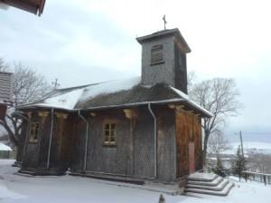 Biserica veche din Sagna a fost ridicată în 1530