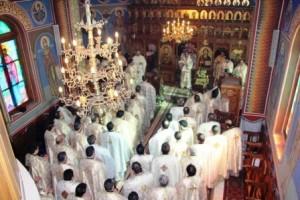 Peste 100 de preoți au fost prezenți la sinaxa preoților de la Sagna