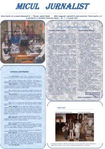 Ziarist pentru o zi (V)