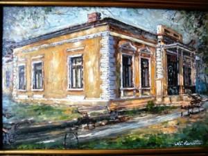 Alexandru Panatta Codreanu, pictorul șefului statului