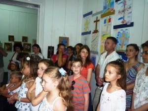 Crucea în imaginația copiilor