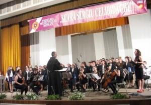 """Emoții și aplauze la seara """"Sergiu Celibidache"""""""