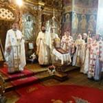 Parastas la mormântul episcopului Melchisedec Ștefănescu
