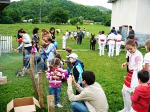 Lecția de generozitate la grădiniță