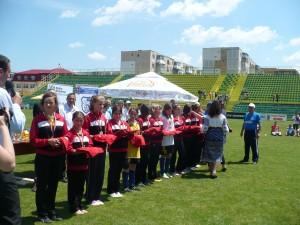Biruința Gherăești: aur și argint la naționalele de oină ale fetelor