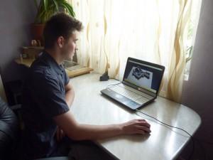 Un romaşcan studiază arhitectura în Anglia