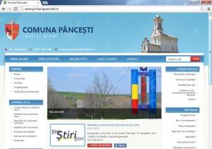Comuna Pânceşti se promovează pe site nou