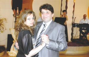 Dan Laurențiu Leoreanu şi soţia Anca Loredana Leoreanu