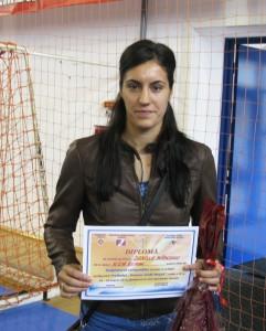Daniela Băbeanu a fost recompensată cu titlul de golgheter al competiţiei
