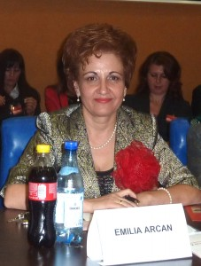 Emilia Arcan este noul preşedinte al OFSD Neamț