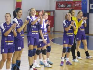 HCM Roman a urcat pe locul al doilea în Liga Națională