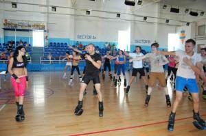 Kangoo Jumps se practică şi la Roman