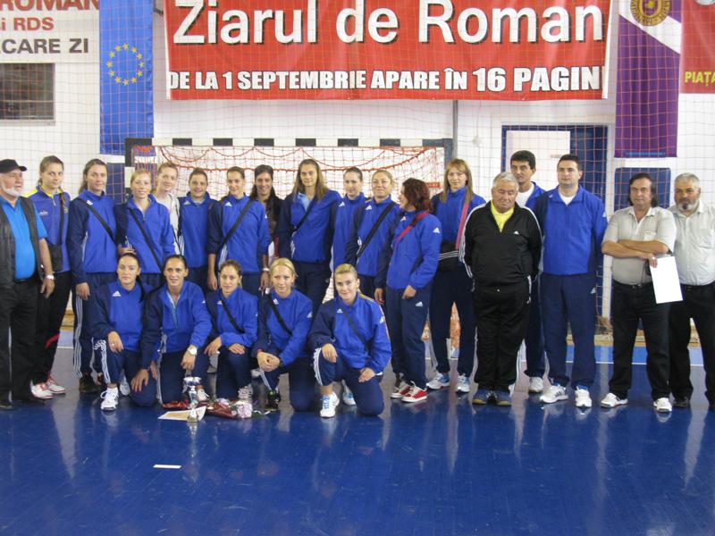 Start în Liga Națională feminină de handbal