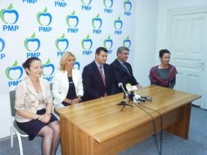 Deputatul Mihaela Stoica a lansat Partidul Mişcarea Populară în Neamţ
