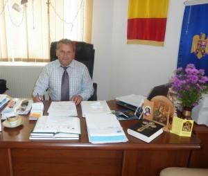 Primarul comunei Boghicea, profesorul Eugen Mihai