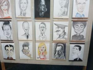 Expoziţie eveniment – grafică, caricatură, portretistică