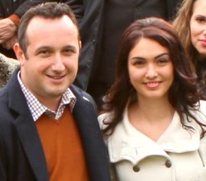 Ioana Boronea s-a măritat cu Lucian Stănciulescu