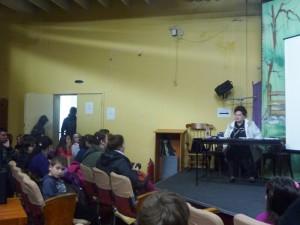 Actrița Stela Popescu a descoperit copii talentați la Roman