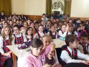 """La Școala """"Mihai Eminescu"""" a început sărbătoarea"""