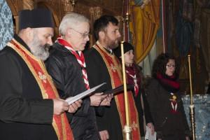 Cercetaşii din Pildeşti au vizitat biserica ortodoxă din Cordun
