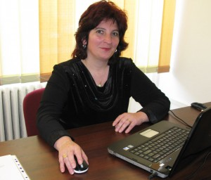 """Profesoara Mihaela Rusu, directorul Școlii """"Mihai Eminescu"""""""